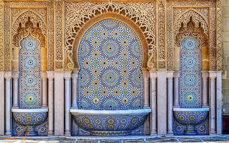 طرحی سنتی در مراکش