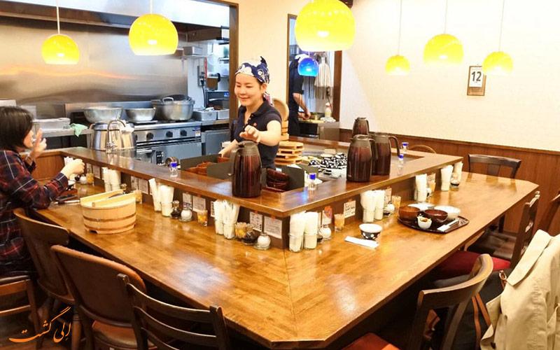 راستوران ژاپنی Mirai Shokudo