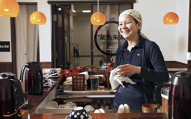 رستوران ژاپنی میرای شکودو