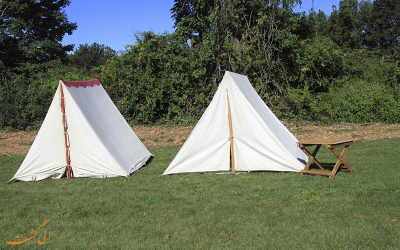 چادر کلاسیک ساده