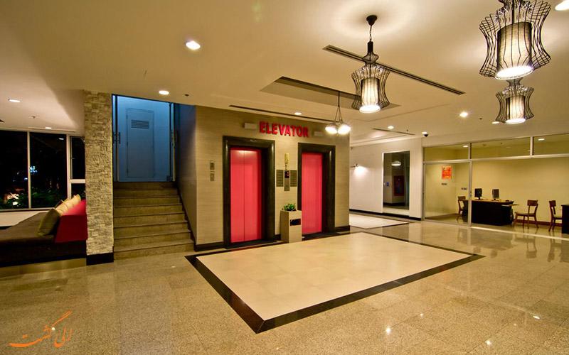 لابی هتل سان شاین ویستا پاتایا