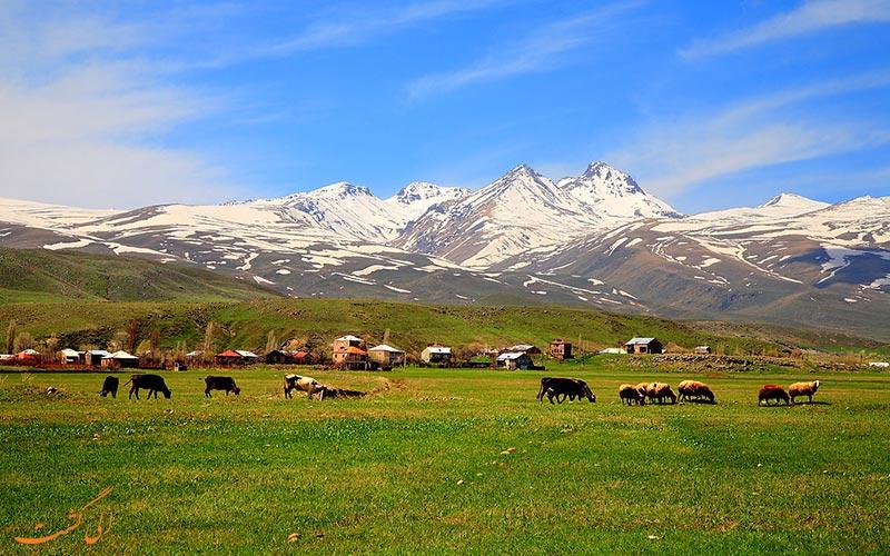 قله آراگاتس در ارمنستان