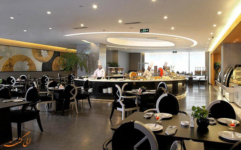 رستوران در هتل رامادا پارک ساید پکن