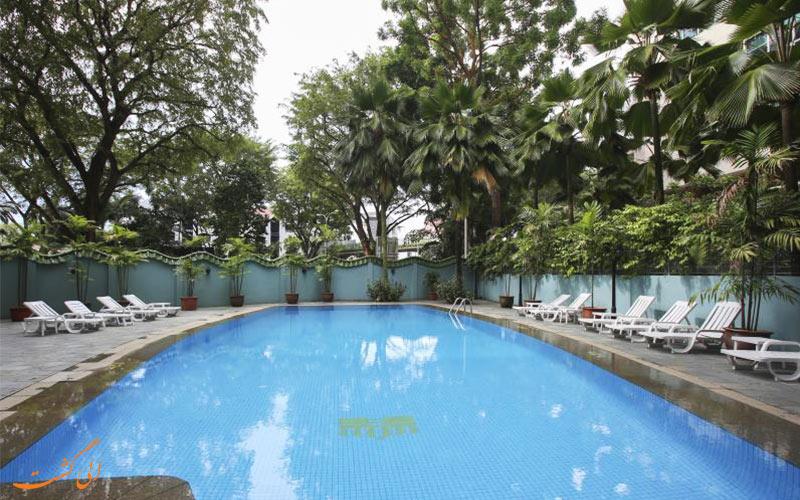 هتل رویال سنگاپور | استخر