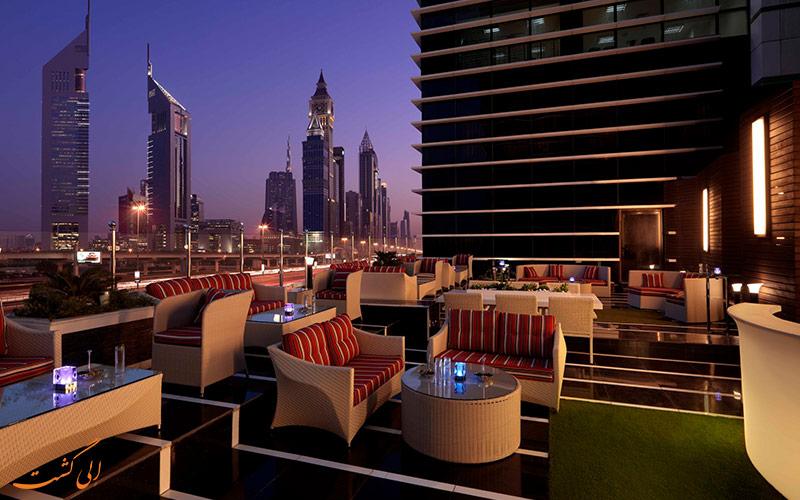 سقف هتل ناسیما رویال دبی