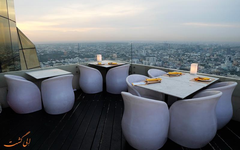 رستورانی در هتل بایوک اسکای بانکوک