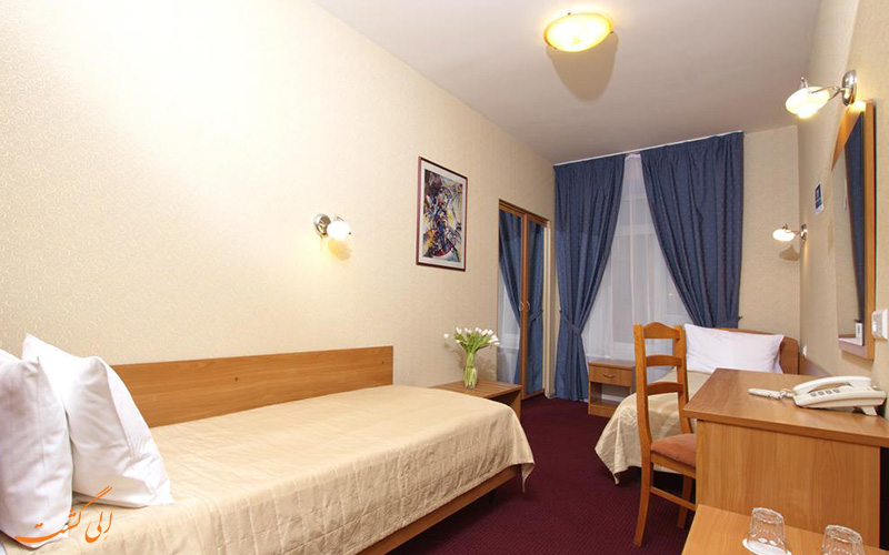 هتل نوستکی سنترال سنت پترزبورگ   نمونه اتاق