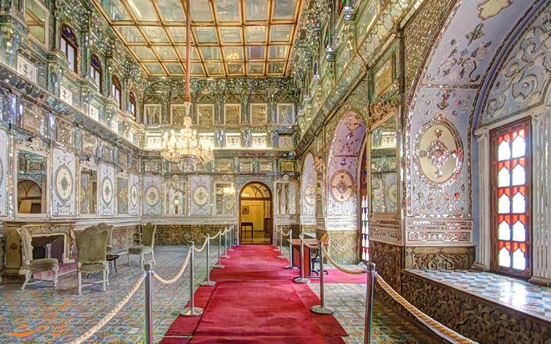 نمای داخلی کاخ شمس العماره