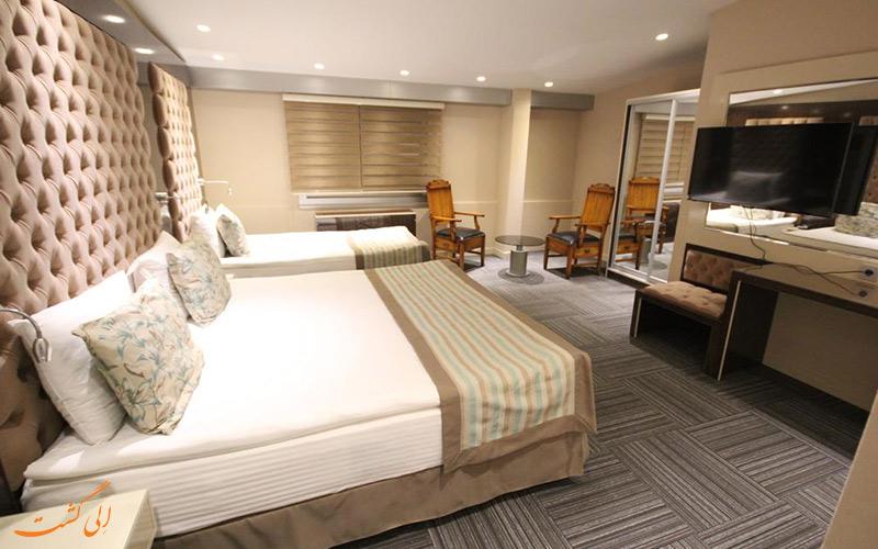 هتل گلد آنکارا | نمونه اتاق