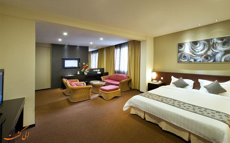 هتل رویال سنگاپور | نمونه اتاق
