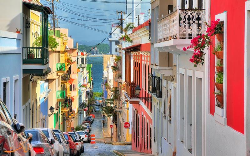 خیابانوی در خیابانی در پورتوریکو