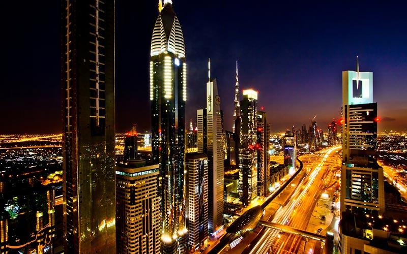 خیابان شیخ زاید