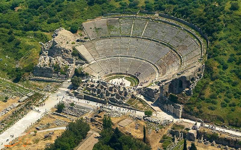تئاتر بزرگ در شهر افسوس