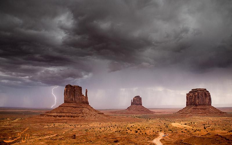توفان های شدید در آمریکا