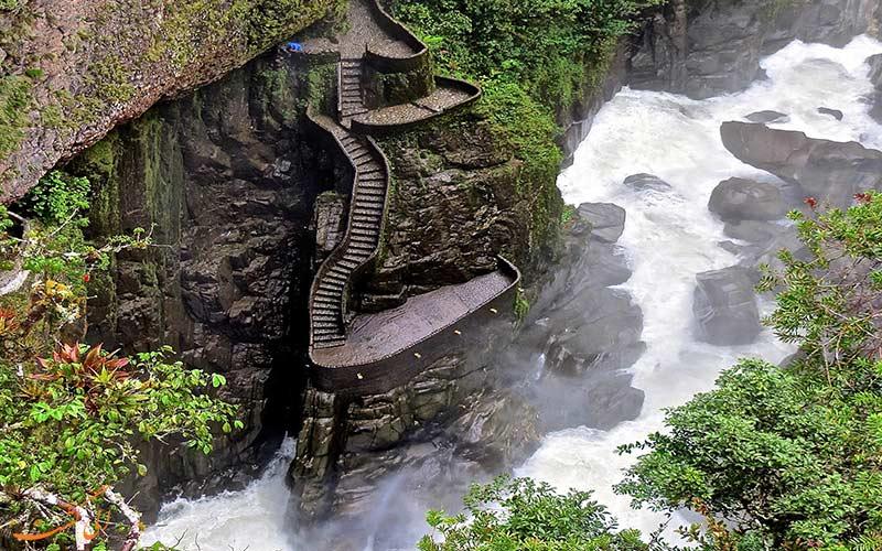 جاذبه های طبیعی اکوادور