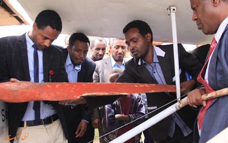 مبتکر اتیوپیایی هواپیمای دست ساز