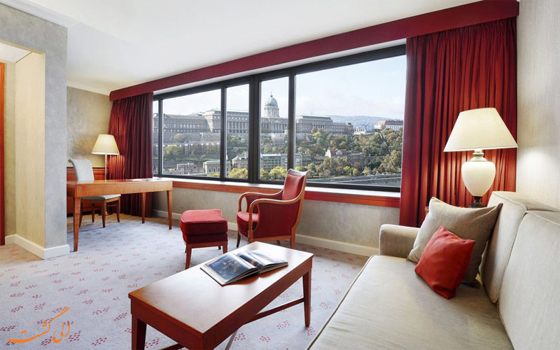 تجهیزات اتاق های هتل اینترکنتینانتال بوداپست