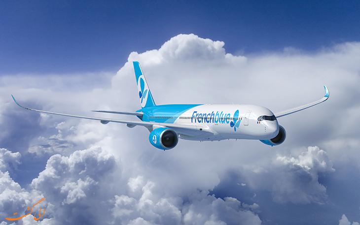 فرنچ بلو طولانی ترین مسیرهای پروازی