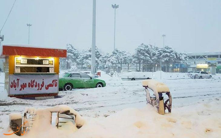 پروازها در فرودگاه های تهران
