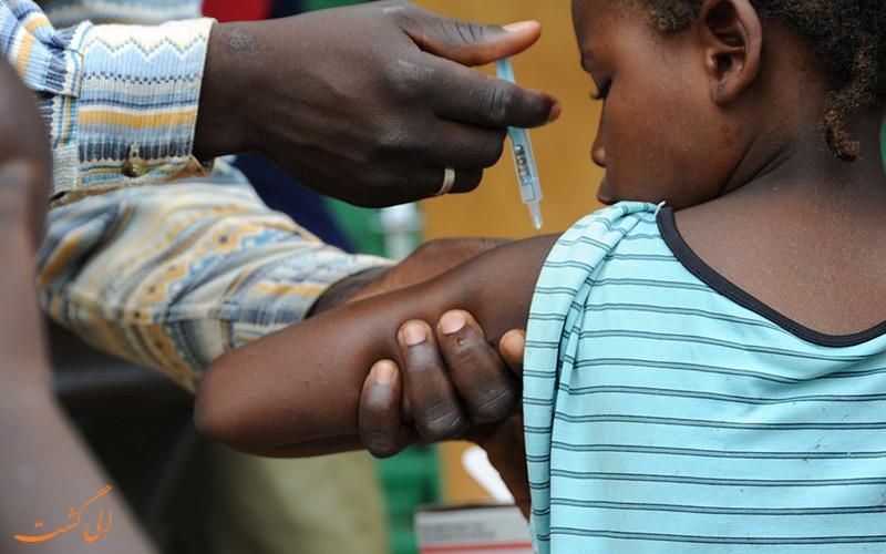 واکسیناسیون در آفریقا