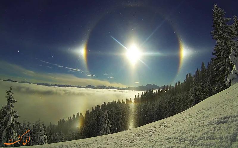 سه خورشید در کنار هم