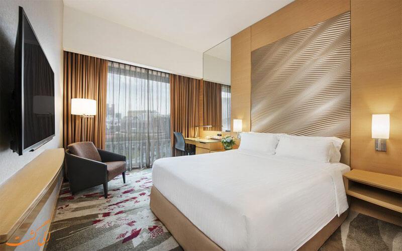 انواع اتاق های هتل پارک کلارک کوای سنگاپور