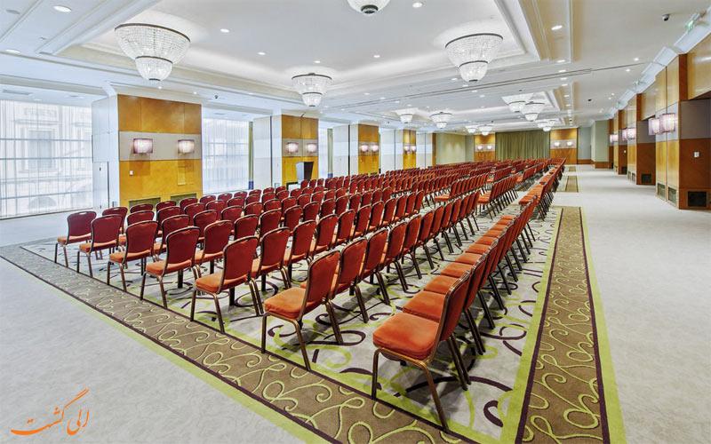 خدمات رفاهی هتل اینترکنتینانتال بوداپست