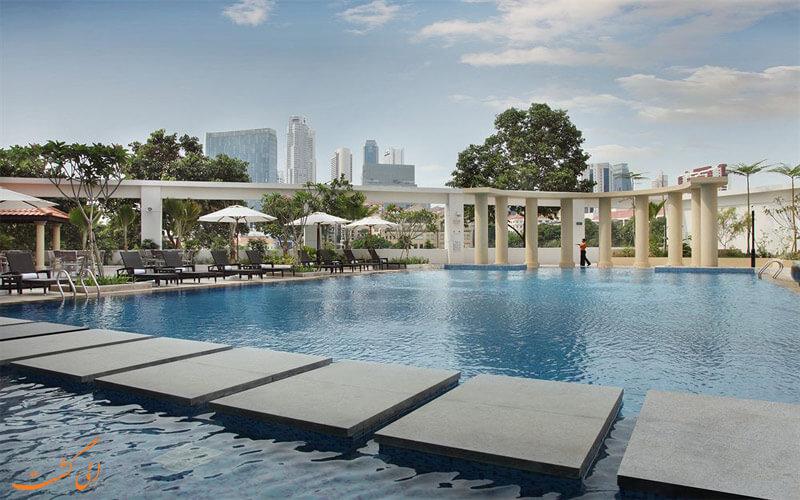 امکانات تفریحی هتل پارک کلارک کوای سنگاپور