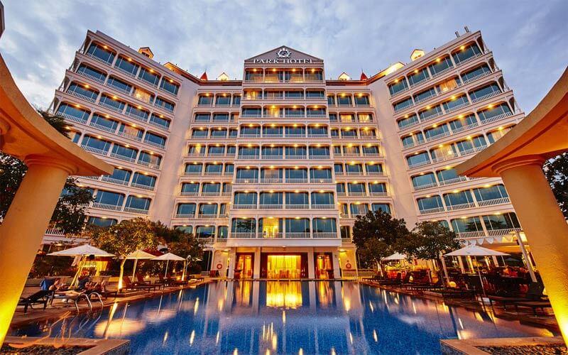 هتل پارک کلارک کوای سنگاپور Park Hotel Clarke Quay