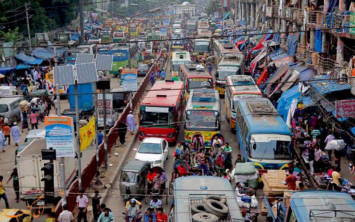 شلوغ ترین شهر جهان