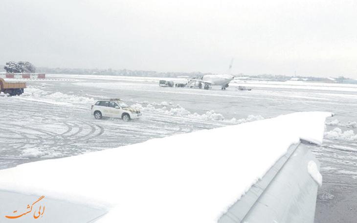 وضعیت پروازها در فرودگاه های تهران