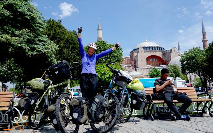 دوچرخه سواری در استانبول