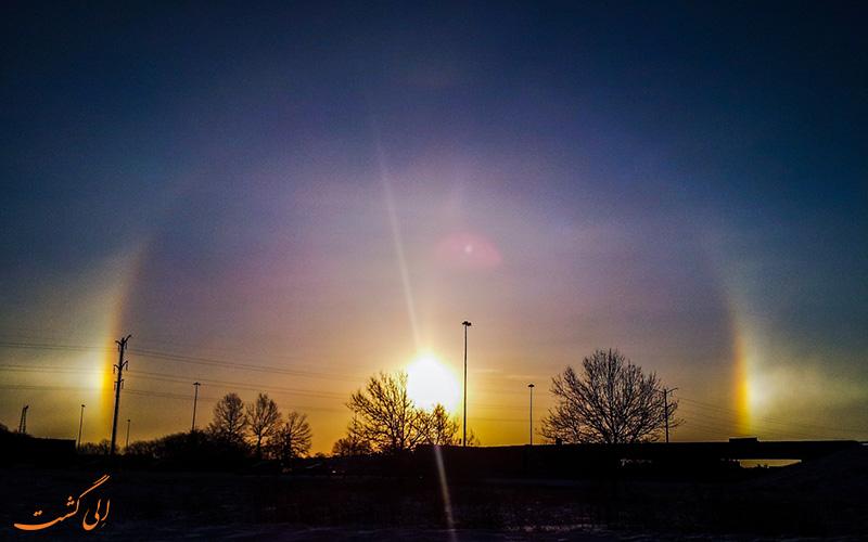 پدیده سه خورشید