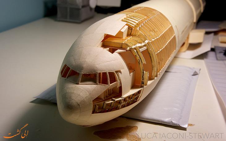 ماکت کاغذی بوئینگ 777
