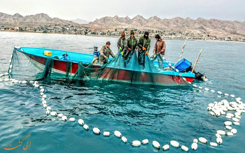 ماهیگیری در سیراف