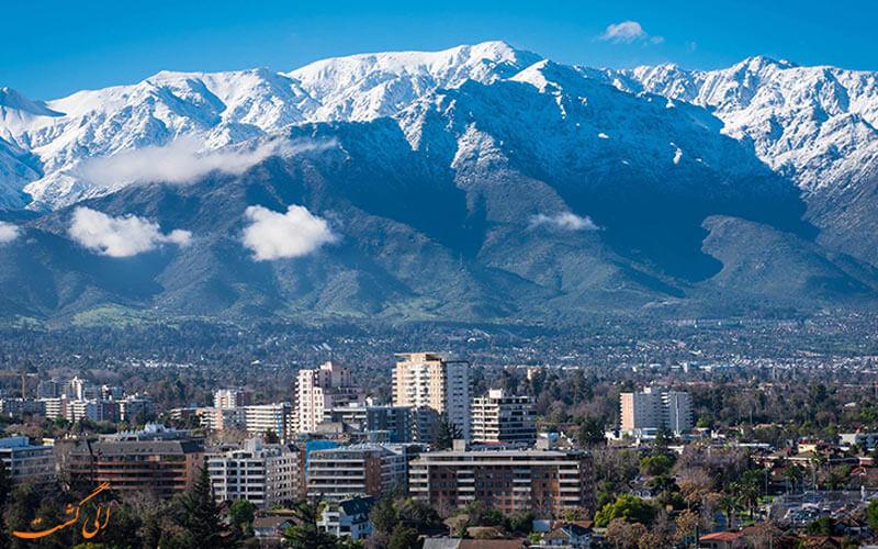 کوه های شیلی