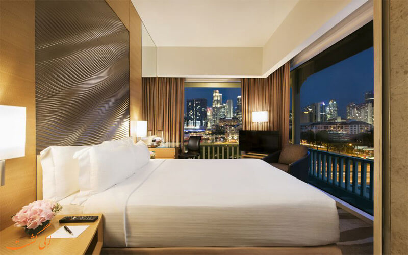 امکانات اتاق های هتل پارک کلارک کوای سنگاپور