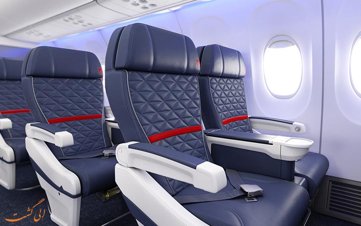 امنیت صندلی هواپیما