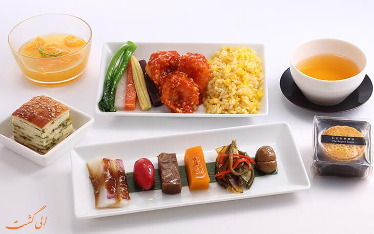 غذای ایرلاین ژاپن