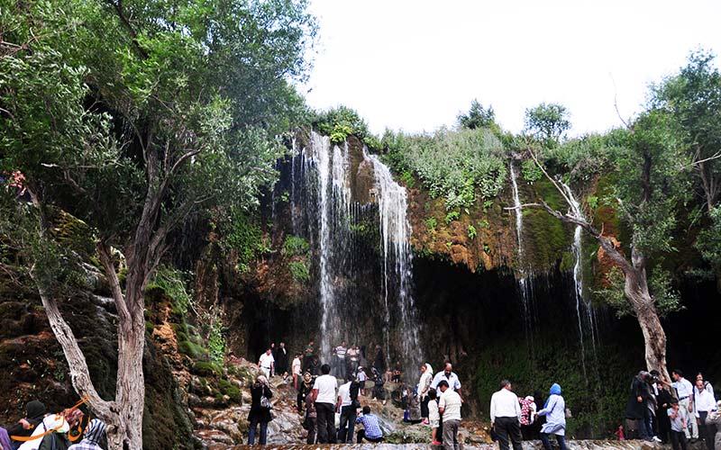 آبشاری در کلیبر