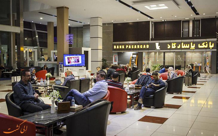 سالن استراحت فرودگاه امام