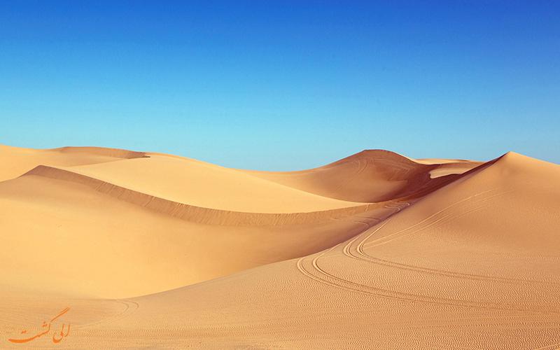 جاذبه های صحرا