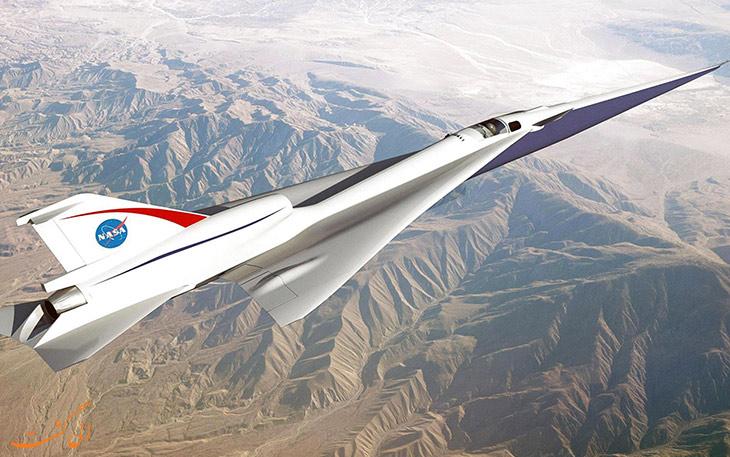 هواپیمای مافوق صوت ناسا