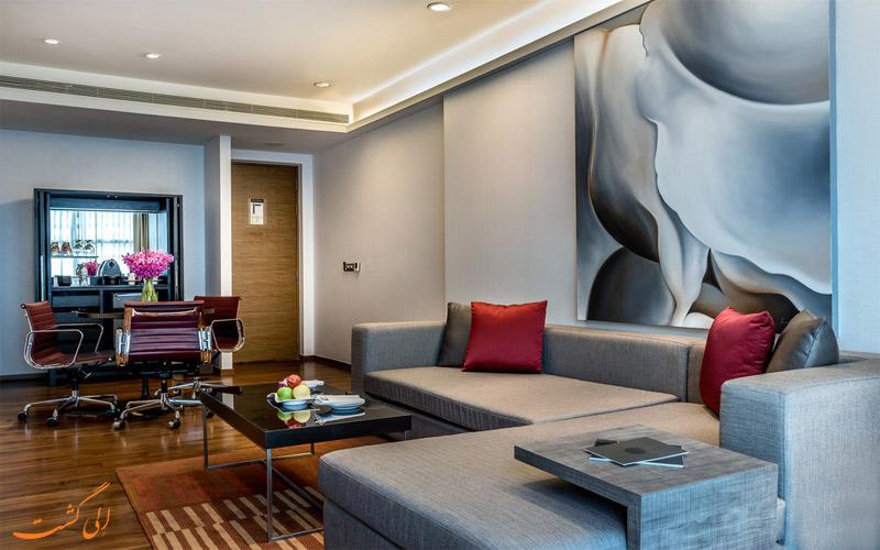 امکانات اتاق های هتل پولمن بانکوک کینگ پاور