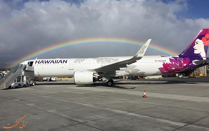 امن ترین ایرلاین های جهان هاوایی
