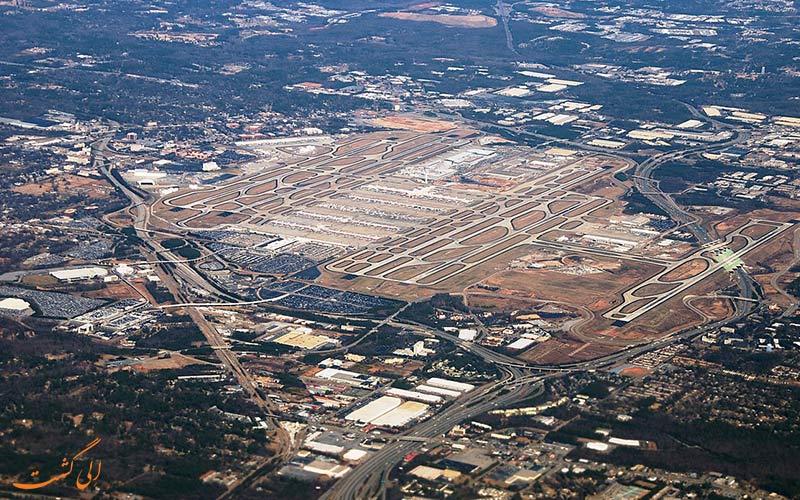 فرودگاه هارتسفیلد جکسون آمریکا