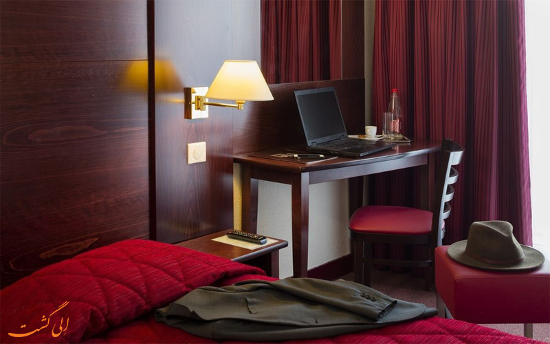 امکانات اتاق های هتل ابریال پاریس