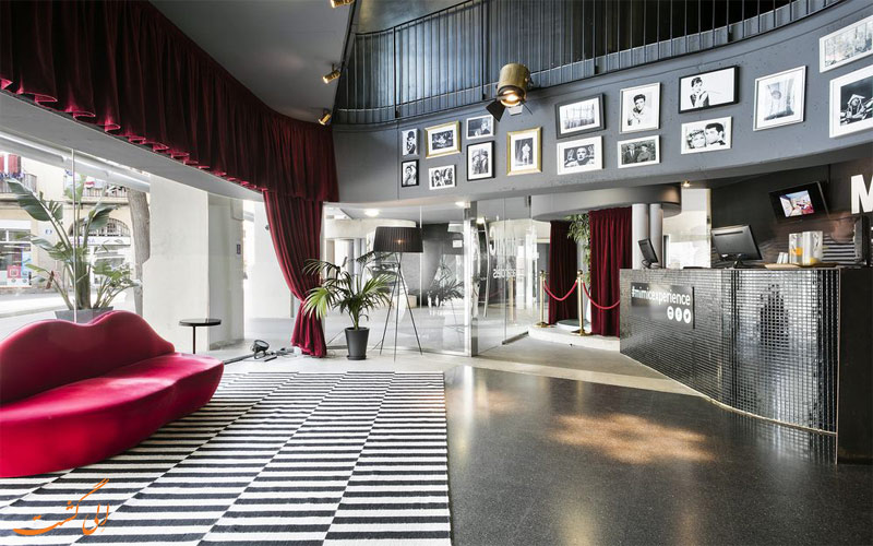 خدمات رفاهی هتل اکتا میمیک بارسلونا- پذیرش