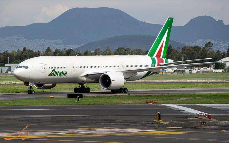 آشنایی با شرکت هواپیمایی آلیتالیا