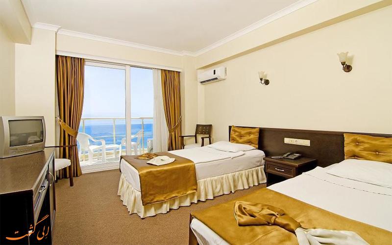 انواع اتاق در هتل آرورا کوش آداسی